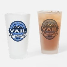 Vail Blue Drinking Glass