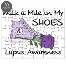 Walk a Mile in My Shoes Lupus Puzzle