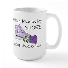 Walk a Mile in My Shoes Lupus Mug