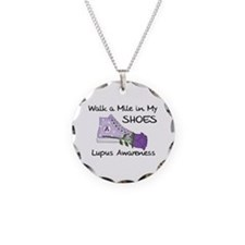 Walk a Mile in My Shoes Lupus Necklace