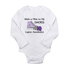 Walk a Mile in My Shoes Lupus Long Sleeve Infant B