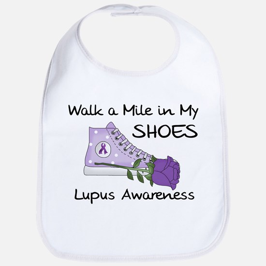 Walk a Mile in My Shoes Lupus Bib