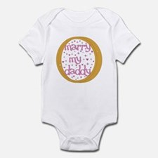 """Marry my Daddy"" Baby Girl Infant Creeper"