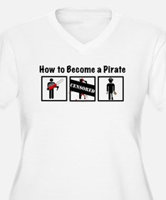 How to Become a Pirate T-Shirt