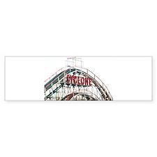 Coney Island: Cyclone Bumper Sticker