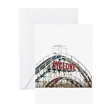 Coney Island: Cyclone Greeting Card