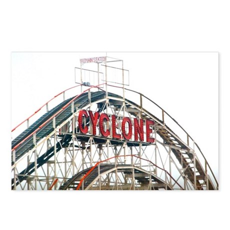 Coney Island: Cyclone Postcards (Package of 8)