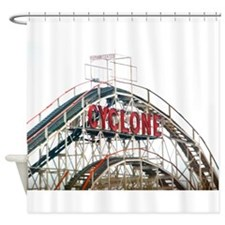 Coney Island: Cyclone Shower Curtain