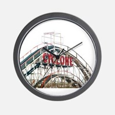 Coney Island: Cyclone Wall Clock