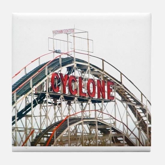 Coney Island: Cyclone Tile Coaster