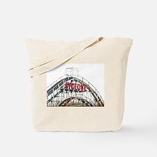 Coney Island: Cyclone Tote Bag