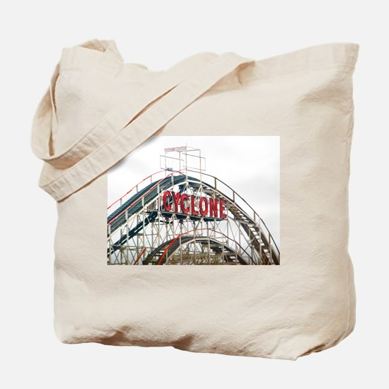 Coney Island: Cyclone Tote Bag
