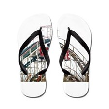 Coney Island: Cyclone Flip Flops