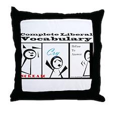 Funny Ows Throw Pillow