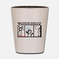 Cute Protest Shot Glass