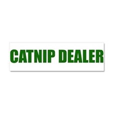 CATNIP DEALER Car Magnet 10 x 3