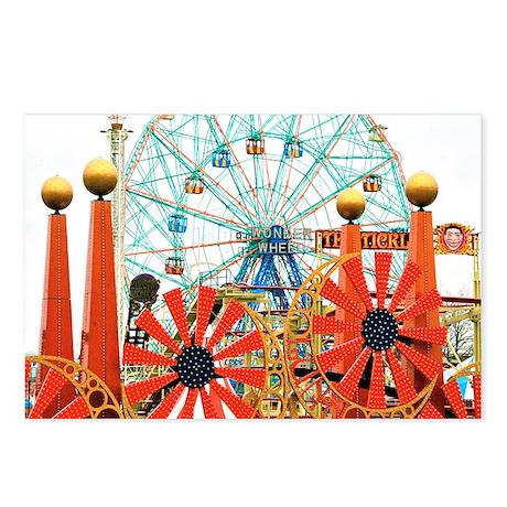 Coney Island: Wonder Wheel Postcards (Package of 8