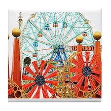 Coney Island: Wonder Wheel Tile Coaster