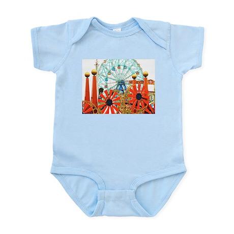 Coney Island: Wonder Wheel Infant Bodysuit