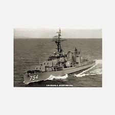 USS FRANK E. EVANS Rectangle Magnet