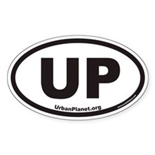 Urban Planet UP Euro Oval Decal