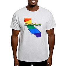 Harrisburg, California. Gay Pride T-Shirt