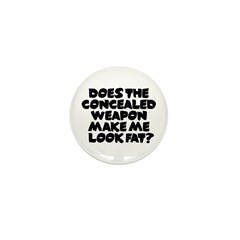 Does The Concealed Weapon Mak Mini Button (100 pac