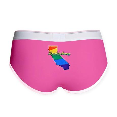 Healdsburg, California. Gay Pride Women's Boy Brie