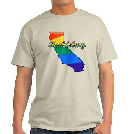 Healdsburg, California. Gay Pride Light T-Shirt