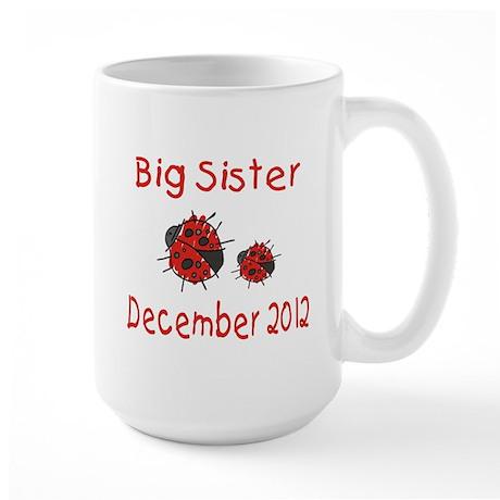 Big Sister Ladybug 1212 Large Mug