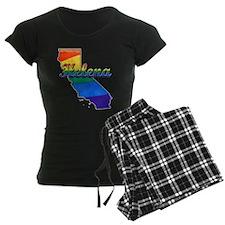 Helena, California. Gay Pride Pajamas