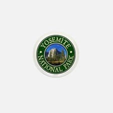 Yosemite Nat Park Design 1 Mini Button