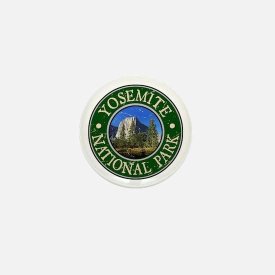 Yosemite Nat Park Design 1 Mini Button