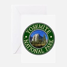 Yosemite Nat Park Design 1 Greeting Card