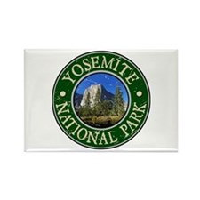 Yosemite Nat Park Design 1 Rectangle Magnet