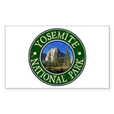 Yosemite Nat Park Design 1 Decal