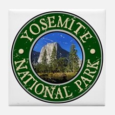 Yosemite Nat Park Design 1 Tile Coaster
