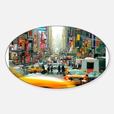 Times Square: No. 10 Sticker (Oval)