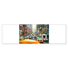 Times Square: No. 10 Bumper Sticker