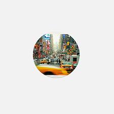Times Square: No. 10 Mini Button