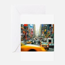 Times Square: No. 10 Greeting Card