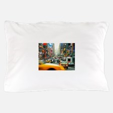 Times Square: No. 10 Pillow Case