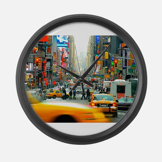 Times Square: No. 10 Large Wall Clock