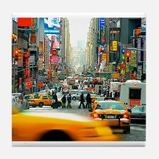 Times Square: No. 10 Tile Coaster