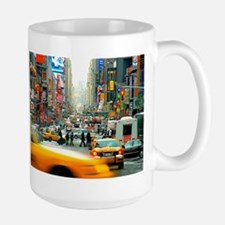 Times Square: No. 10 Ceramic Mugs