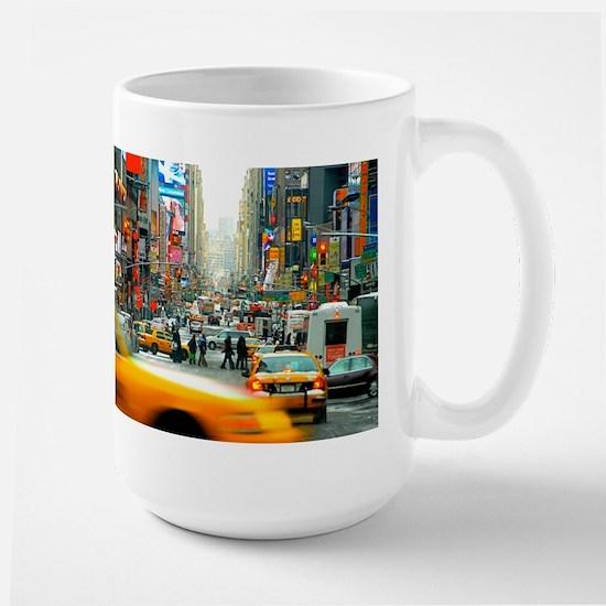 Times Square: No. 10 Large Mug