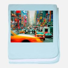 Times Square: No. 10 baby blanket
