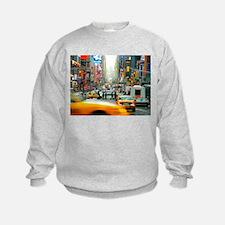 Times Square: No. 10 Sweatshirt