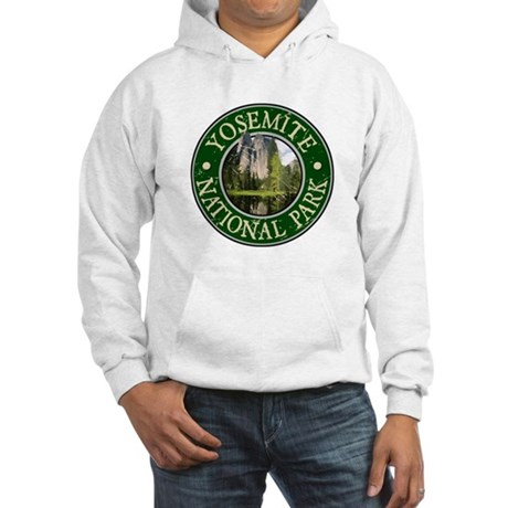 Yosemite Nat Park Design 2 Hooded Sweatshirt