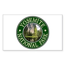 Yosemite Nat Park Design 2 Decal